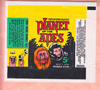 1967 TOPPS PLANET OF THE APES 5 cents WAX WRAPPER NM