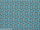 END OF BOLT, Almost 2 Yards  Quilting Sewing Fabric Christmas Tiny  Snowmen