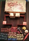 50s 60s Marx Toy APACHE FORT Large vtg Cowboys Indians Figures Antique PLAY SET