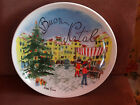 NEW BUON NATALE CHRISTMAS LARGE SERVING PLATTER BOWL REPLACEMENT ADD 2 YOUR SET