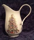 NWT Lenox Holiday Christmas Tree Large Pitcher White China Made In USA Free S