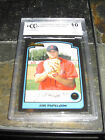 2003 BOWMAN DRAFT PICKS #BDP51 JON PAPELBON GRADED BCCG 10 MT+