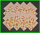 40 Passion Posies Fabric Squares Quilt blocks Kit Sewing quilting 4x4 Material