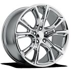 4 NEW JEEP SRT8 20 Chrome Wheels OE 20x9 5x115 OE Dodge Charger Challenger 300