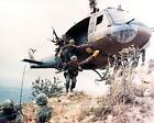 VIETNAM WAR PHOTO UH-1 HUEY HELICOPTER US ARMY COMBAT MILITARY 8x10  #21518