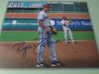 Ryan Zimmerman Autographed Signed Nationals 8x10 Photo with Harrisburg in AA
