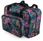 Distinctive Large Floral Pattern Premium Sewing Machine Universal Tote Bag New