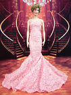 Pink Dress Outfit Gown Fits Princess Diana Marilyn Monroe Michelle Obama Vinyl