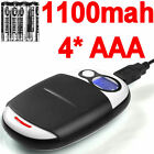 4 Digimax NiMH 1100mah Battery+Fast 1Hr AA/AAA LCD Charger+USB plus AC Adapter.+