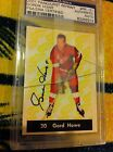Gordie Howe Autograph Psa dna Authenticated 2001 Parkhurst Auto Signed