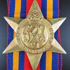 WW2 AUSTRALIA BRITISH BURMA STAR MEDAL ORDER FOR FIGHTING JAP FORCES