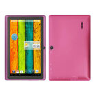 7 Pink Android 42 A23 Cortex Dual Core  Camera 4GB 512MB PC Tablet Notebook