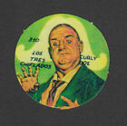 The Three Stooges Curly Rare 1960s TV Show Disc Card