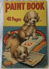 Antique 1938 PAINT BOOK Pub by Merrill Publishing Co Chicago ILL.