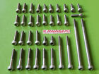 kawasaki z1 kz900 kz1000 kz 1000 engine cover bolt STAINLESS STEEL SCREWS KIT
