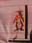 WOODEN JESTER PULL STRING TOY PULL STRING HE DANCES RAISES ARMS AND LEGS C1264