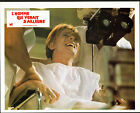 THE MAN WHO FELL TO EARTH original 1975 lobby card RARE movie poster DAVID BOWIE