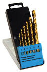 CK T3293 TITANIUM COATED HSS METAL DRILL BIT SET IN CASE - 2 - 8mm (6 pieces)