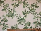 NEW 5 YARDS GREEN LEAVES PRINT COTTON FABRIC 54 W  BLOOMCRAFT SCREEN PRINT P421