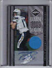 2010 PANINI LIMITED #19 PHILIP RIVERS AUTOGRAPH JERSEY CHARGERS 8 15 1065
