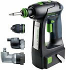 Festool Cordless Drill C 15 Li 15.2 SET GB (1 x Battery Pack lithium-ion 5.2 Ah)