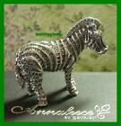 WEBER ANNALEECE ***ZEBRA***  MADE WITH 100% SWAROVSKI ELEMENTS  NIB