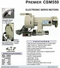 CONSEW PREMIER CSM550 SEWING MACHINE SERVO MOTOR 3/4HP