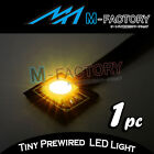 Super Bright Yellow Engine Little SMD LED Light For Universal Bike Car Motorbike