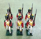 Soldiers of the World Voltigeur-2nd Swiss 1812-1815 N79 6 Metal Figures
