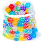 200 Non Toxic BPA Lead Free 10 Color Invisiball Ball Pit Play Balls for Kids