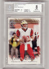 2000 Pacific Private Stock football Tom Brady RC Rookie 650 card #128 BGS 8