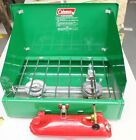 Vintage 1974 Coleman 425E Camping Stove In Original Box Excellent never cooked