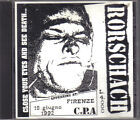 RORSCACH - LIVE IN ITALY 6/18/92 NYHC BORN AGAINST CITIZEN'S ARREST HARDCORE