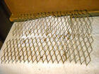 small wire mesh panels steampunk metal art deco
