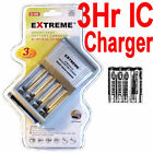 4 Digimax Rechargeable battery AAA+EXTREME 3Hr Smart/IC AA/AAA Charger++++++++-