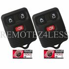 2 New 3 But Replacement Keyless Entry  Remote Key Car Fob + Extra Batteries