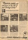 1943 vintage TEXACO Marfak TRACTOR Farm University of Missouri AGRICULTURE Ad