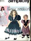 FAB DARLING DAISY KINGDOM GIRLs DRESS & JUMPSUIT Sewing Pattern 7698 6 7