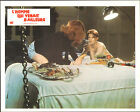 THE MAN WHO FELL TO EARTH orig lobby card movie poster DAVID BOWIE/CANDY CLARK
