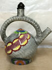 Vintage Hand Painted Ceramic German TeaPot Tea Pot Germany Art Deco Style
