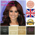 Top quality Clip in full head Remy Real 100% Human Hair Straight Extension