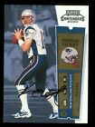 2000 PLAYOFF CONTENDERS TOM BRADY ROOKIE ON-CARD AUTO 144 RC Super Bowl 4X Champ