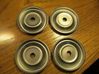 HOOSIER CABINET ANT TRAP SET OF 4 FOR 1 PRICE! STEEL CASTOR  ANT TRAP RINGS
