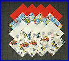 40 Speed Race Fabric Squares Quilt blocks Kit Sewing quilting 4x4 Material