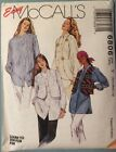 McCalls Sewing Pattern 6806 Womens Easy Lined Vest & Shirt size S M L Uncut 1993