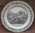 French Empire Pepin The Short Cabinet Wall Grisaille Plate Creil Paris