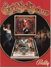 Bally Eight Ball Deluxe Pin-Ball Game Advertising Sales Sheet