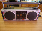 SONY AM/FM STEREO CASSETTE TAPE RECORDER MODEL CFS-450 BOOMBOX