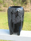VINTAGE ART POTTERY VASE DRIP DESIGN BASE LOOKS LIKE SPACE ROCKET