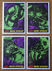 Mars Attacks IDW Blue Label Sean Pence 4 Puzzle Sketch Card Set (Heritage Stock)